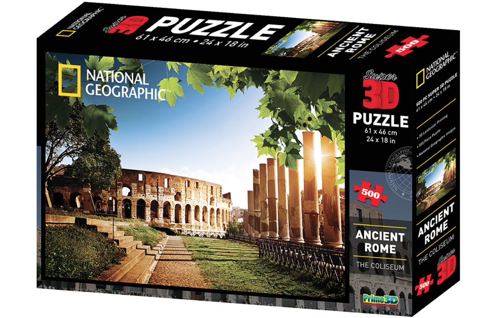 NATIONAL GEOGRAPHIC Super Ancient China//Great Wall of China 3D Puzzle 500-Piece